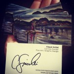 Persona Art Business Card Design | Corinna Sinclair 3013