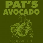 Pat's Avocado Company Logo and Shirt Design