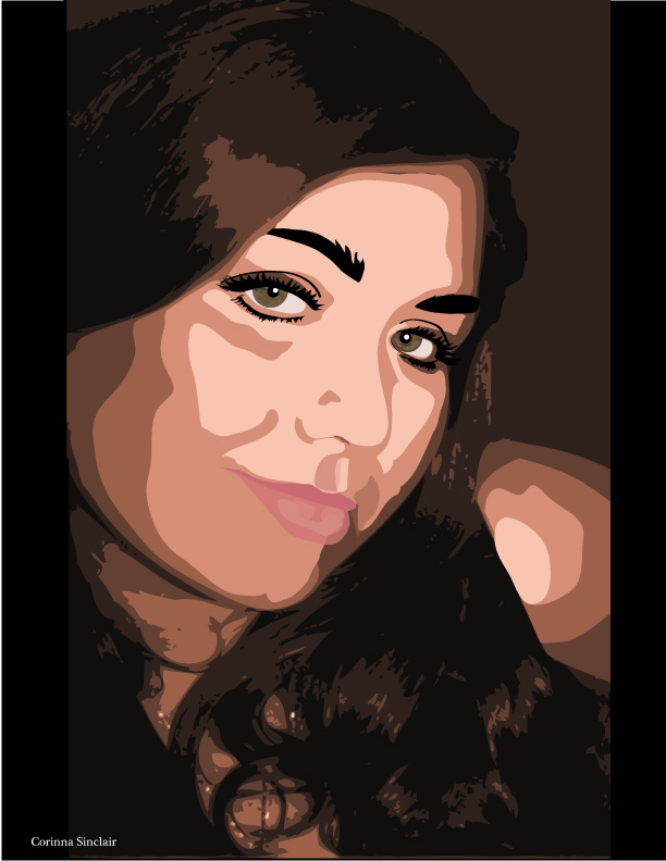 Corinna Sinclair | Vector Portrait